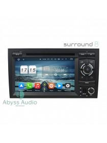 Штатна магнітола Abyss Audio для Audi A4 2002-2008