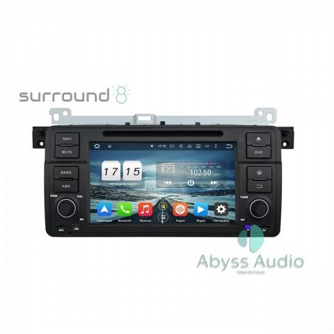 Штатна магнитола для BMW 3 E46 1998-2005 от Abyss Audio: Q10E-BWE46 на Android 10 Q