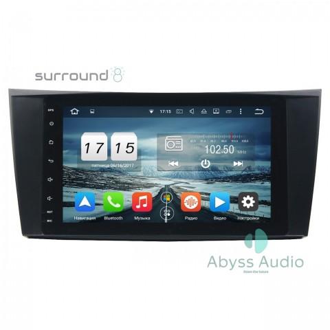 Штатна магнитола для Mercedes CLS W2192004-2009 от Abyss Audio: Q10E-CLS219 на Android 10 Q