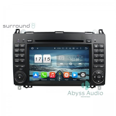 Штатна магнитола для Mercedes Benz A-W169 2005-2011 от Abyss Audio: Q10E-AW169 на Android 10 Q