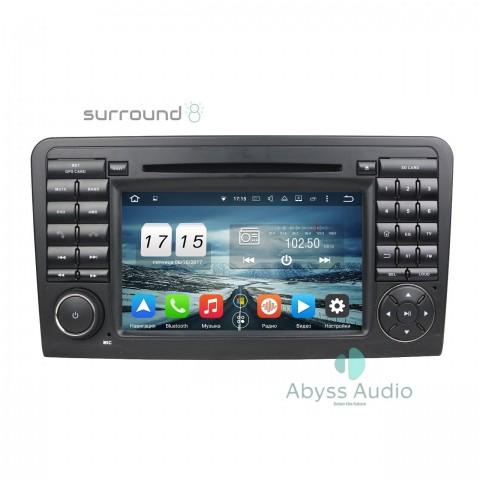 Штатна магнитола для Mercedes ML CLASS W164 2005-2012 от Abyss Audio: Q10E-ML164 на Android 10 Q