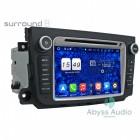 Штатна магнитола для Mercedes SMART 201-2012 от Abyss Audio: Q10E-SMART на Android 10 Q