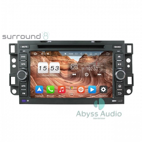 Штатная магнитола для Chevrolet Aveo 2002-2011 от Abyss Audio P9E-AVE02 на Android 9 Pie