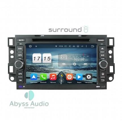 Штатная магнитола Abyss Audio для Chevrolet Aveo 2002-2011