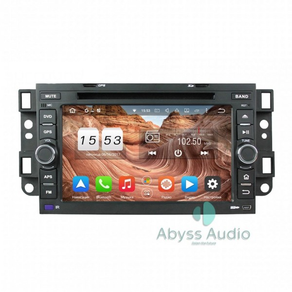 Штатная магнитола Abyss Audio для Chevrolet Capativa 2006-2011