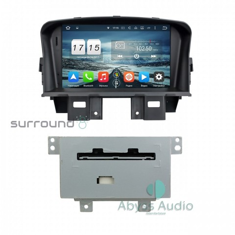 Штатная магнитола для Chevrolet Cruze 2008-2011 от Abyss Audio P9E-CRU08 на Android 9 Pie