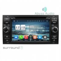 Штатная магнитола Abyss Audio для Ford Fiesta 2007-2011