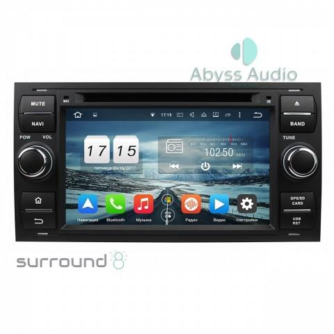Штатная магнитола для Ford Focus 2007-2011 от Abyss Audio P9E-FOC07 на Android 9 Pie
