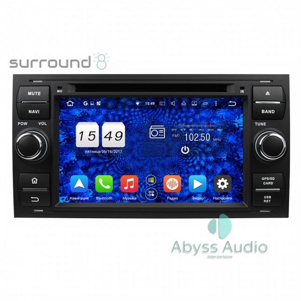 Штатная магнитола Abyss Audio для Ford C-Max 2007-2011