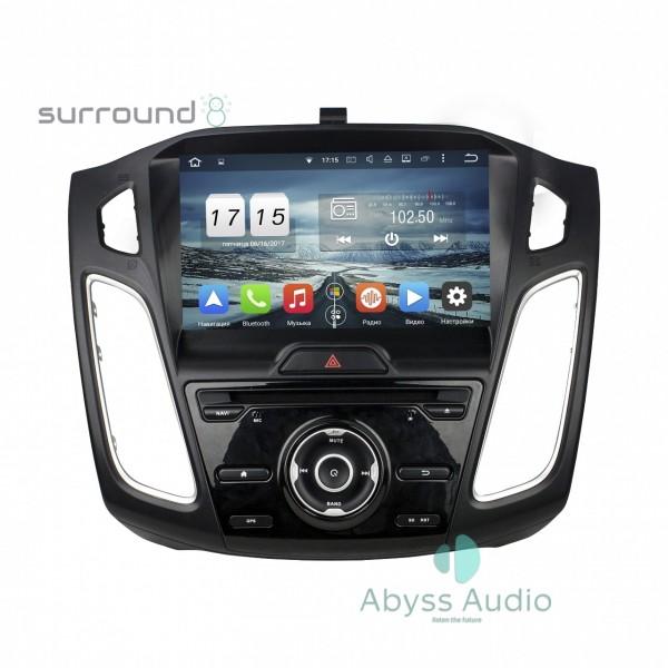Штатная магнитола Abyss Audio для Ford Focus 2015-2016
