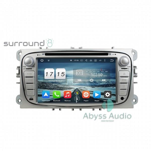 Штатная магнитола Abyss Audio для Ford Focus 2008-2010