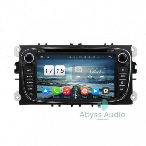 Штатная магнитола для Ford S-max 2008-2010 от Abyss Audio P9E-SMAX08 на Android 9 Pie