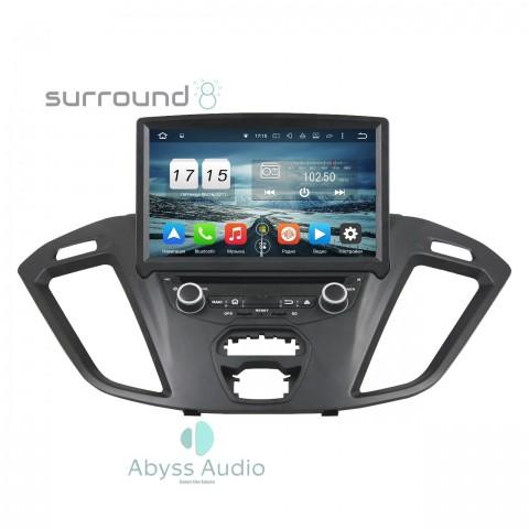 Штатная магнитола для Ford Transit 2016 от Abyss Audio P9E-TRAN16 на Android 9 Pie