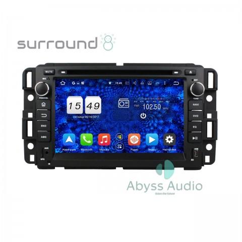 Штатная магнитола для GMC Yukon/Tahoe 2007-2012Full touch от Abyss Audio P9E-YUK07T на Android 9 Pie