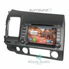 Штатная магнитола для Honda Civic 2006-2011 от Abyss Audio P9E-CIV06-7 на Android 9 Pie