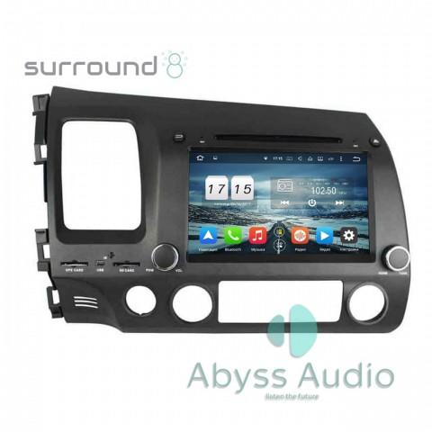 Штатная магнитола для Honda Civic 2006-2011 от Abyss Audio P9E-CIV06-8 на Android 9 Pie