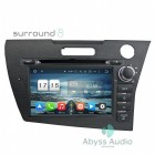 Штатная магнитола для Honda CRZ от Abyss Audio P9E-CRZ на Android 9 Pie