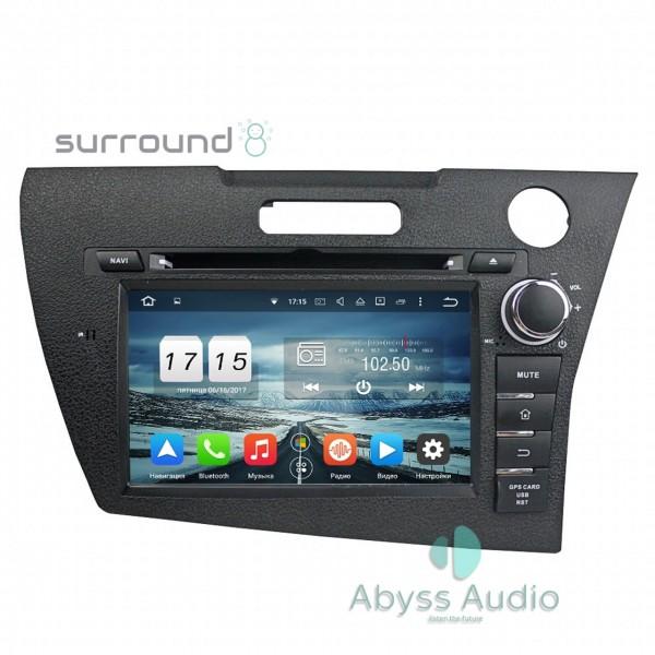 Штатная магнитола Abyss Audio для Honda CRZ