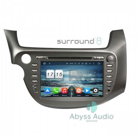 Штатная магнитола для Honda Jazz 2009-2011 от Abyss Audio P9E-JAZ09 на Android 9 Pie