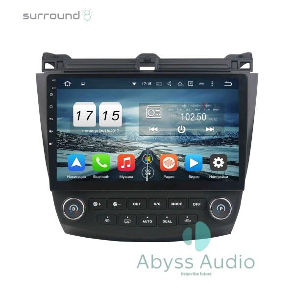 Штатная магнитола Abyss Audio для Honda Accord 7 2003-2007