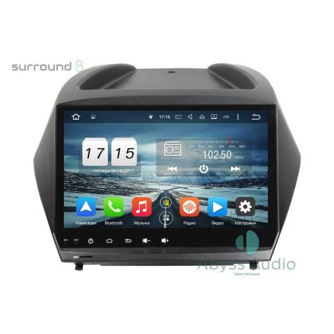 Штатная магнитола для Hyundai IX35 2011-2015 от Abyss Audio P9D-11iX35 на Android 9 Pie