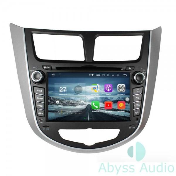 Штатная магнитола Abyss Audio для Hyundai Accent 2011-2012