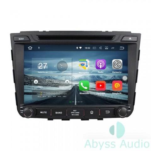 Штатная магнитола для Hyundai IX25 2014-2015 от Abyss Audio P9E-CRET14 на Android 9 Pie