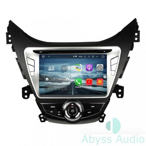 Штатная магнитола для Hyundai Elantra 2011-2013 от Abyss Audio P9E-ELA11 на Android 9 Pie