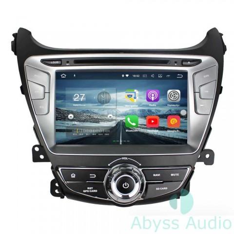 Штатная магнитола для Hyundai Elantra 2014 от Abyss Audio P9E-ELA14 на Android 9 Pie