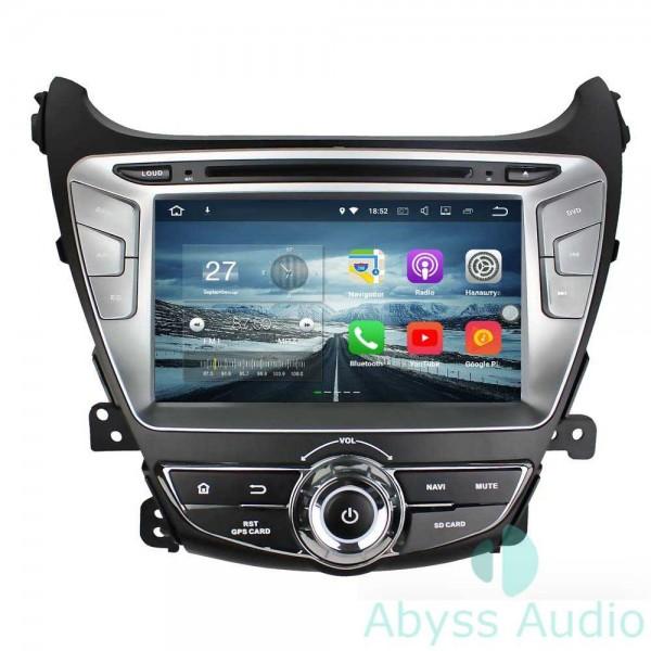 Штатная магнитола Abyss Audio для Hyundai Elantra 2014