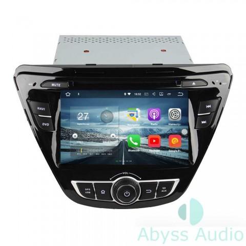 Штатная магнитола для Hyundai Elantra 2014 от Abyss Audio P9E-ELA14b на Android 9 Pie