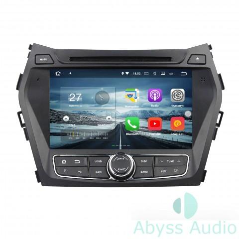 Штатная магнитола для Hyundai IX45 / Santa Fe2013-2014 от Abyss Audio P9E-SANF13 на Android 9 Pie