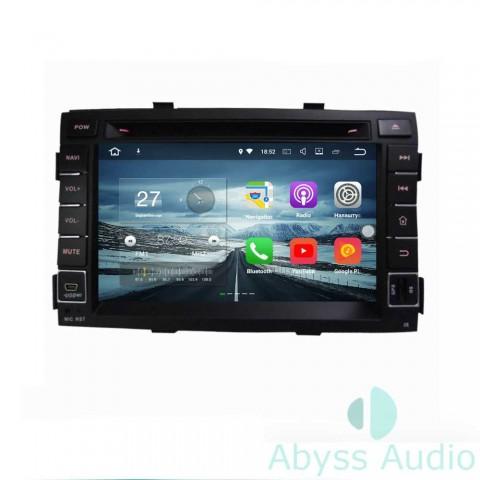 Штатная магнитола для KIA Sorento 2011 от Abyss Audio P9E-SOR11 на Android 9 Pie