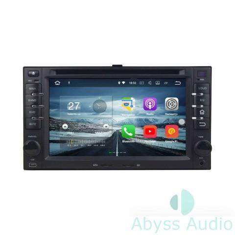 Штатная магнитола для KIA Sportage 2004-2010 от Abyss Audio P9E-SPO04 на Android 9 Pie