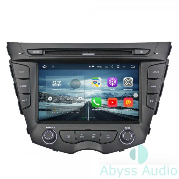 Штатная магнитола Abyss Audio для Hyundai Veloster 2011-2013