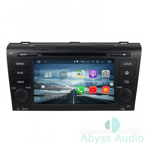 Штатна магнитола для Mazda 3 2004-2009 от Abyss Audio: Q10E-04MZ3 на Android 10 Q