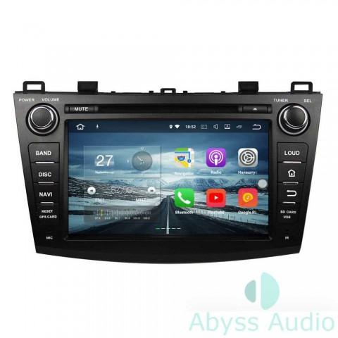 Штатна магнитола для Mazda 3 2009-2012 от Abyss Audio: Q10E-09MZ3 на Android 10 Q