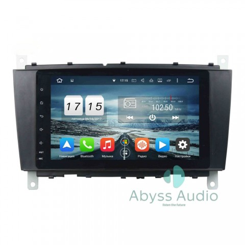Штатна магнитола для Mercedes ML W163 2002-2005 от Abyss Audio: Q10D-ML163 на Android 10 Q