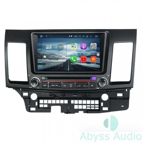 Штатная магнитола для Mitsubishi Lancer 2006-2012 от Abyss Audio P9E-LANX06 на Android 9 Pie