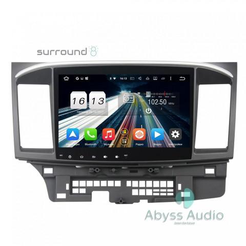 Штатная магнитола для Mitsubishi Lancer 2014-2015 от Abyss Audio P9E-LANX14 на Android 9 Pie