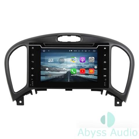 Штатна магнитола для Nissan Juke 2004-2016 от Abyss Audio: Q10E-JUK04 на Android 10 Q