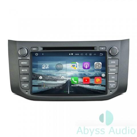 Штатна магнитола для Nissan Sentra 2012-2014 от Abyss Audio: Q10E-SEN12 на Android 10 Q