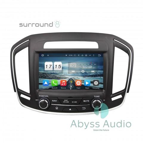 Штатна магнитола для Opel Insignia 2014-2015 от Abyss Audio: Q10D-ING14 на Android 10 Q