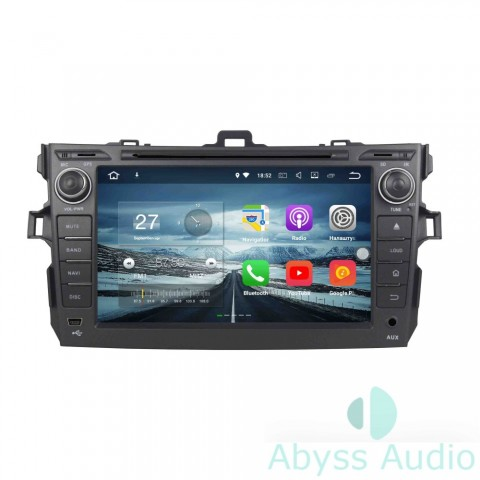 Штатна магнитола для Opel Zafira2005-2011 от Abyss Audio: Q10E-ZAF05 на Android 10 Q