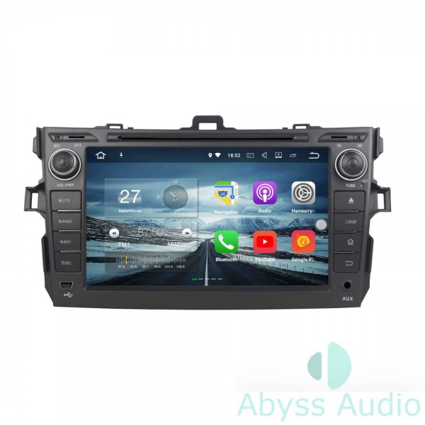 Штатная магнитола Abyss Audio для Opel Zafira 2005-2011