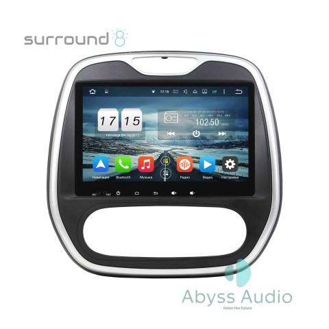 Штатна магнитола для Renault Capture AT 2016 от Abyss Audio: Q10D-CAP16A на Android 10 Q