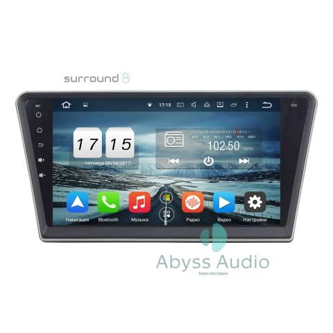 Штатна магнитола для Peugeot PG 408 от Abyss Audio: Q10D-PG408 на Android 10 Q