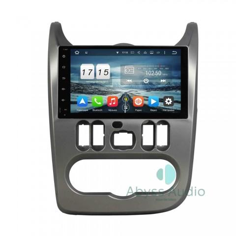 Штатна магнитола для Renault Sandero от Abyss Audio: Q10D-SNDRO на Android 10 Q