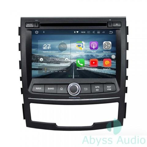 Штатная магнитола для Ssang Yong Korando 2010-2013 от Abyss Audio P9E-KOR10 на Android 9 Pie
