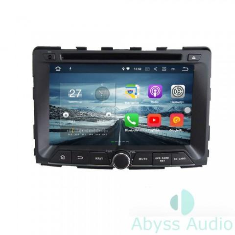 Штатная магнитола для Ssang Yong Rodius 2014 от Abyss Audio P9E-ROD14 на Android 9 Pie